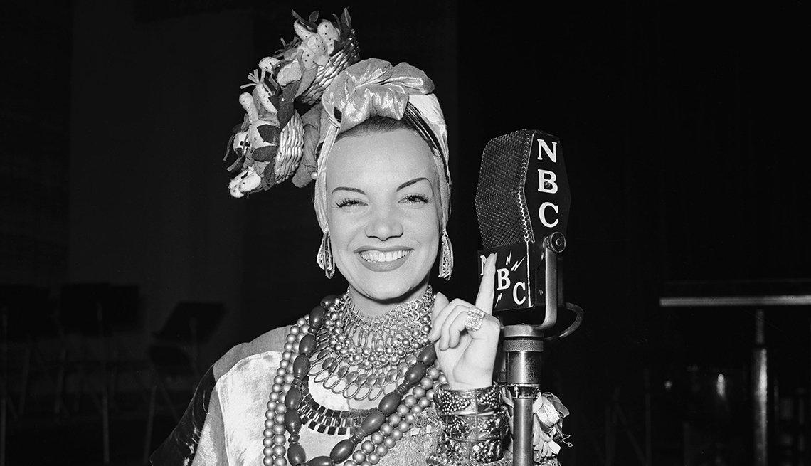 Retrato de Carmen Miranda