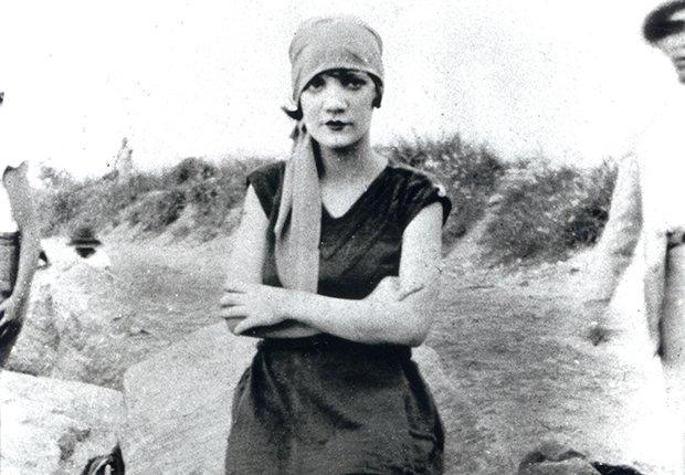 Retrato de Carmen Miranda en 1924