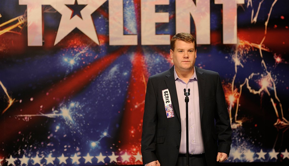 James Corden, película One Chance