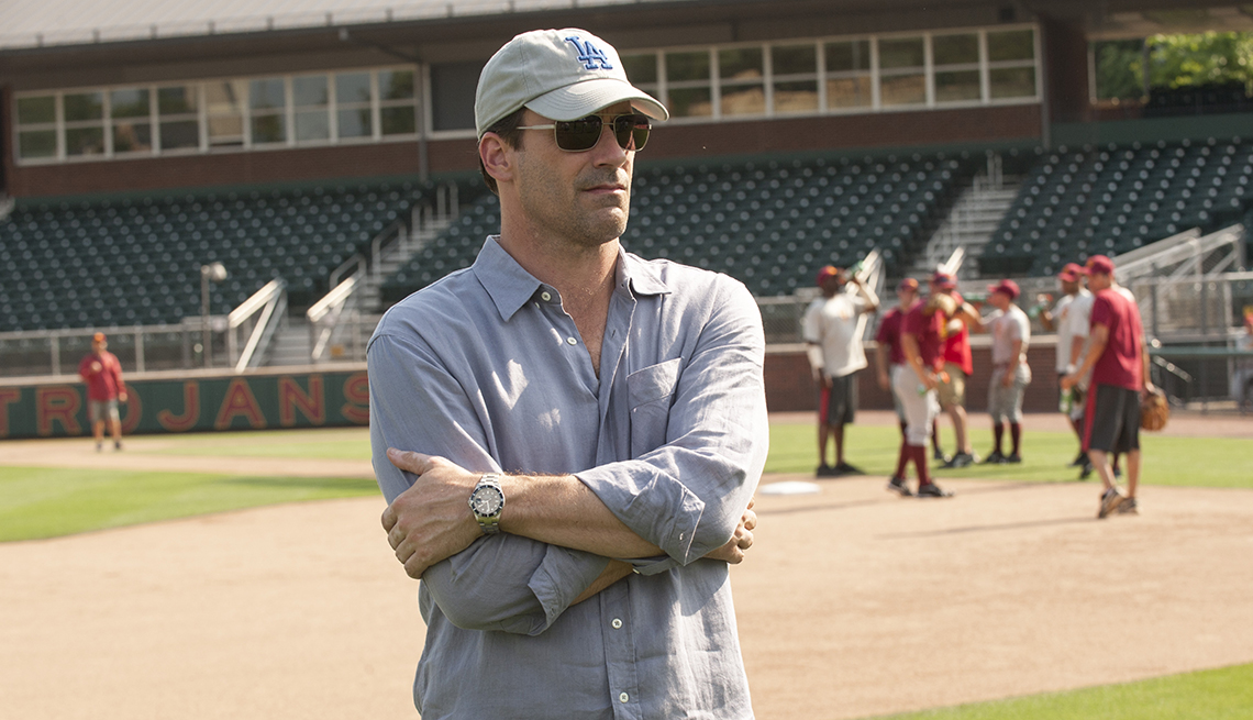 Jon Hamm en una escena de 'Dollar Million Arm'.