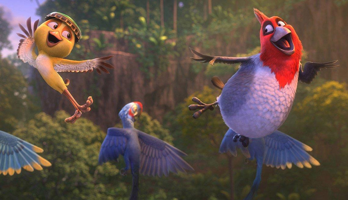 Will. I. Am es la voz de Pedro en la película animada 'Rio 2'.