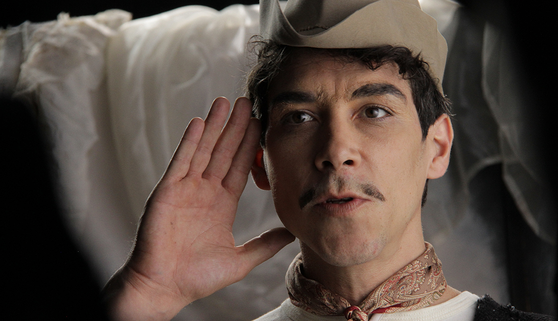 Oscar Jaenada, Cantinflas, Movies, The Golden Age of Mexican Cinema