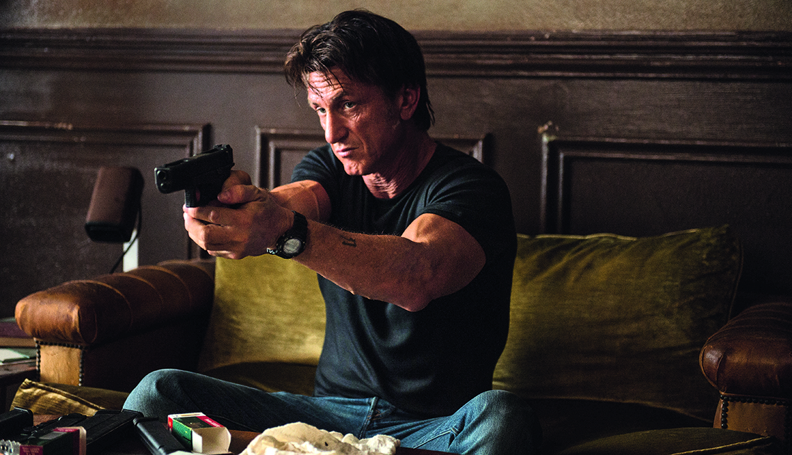 Sean Penn, The Gunman