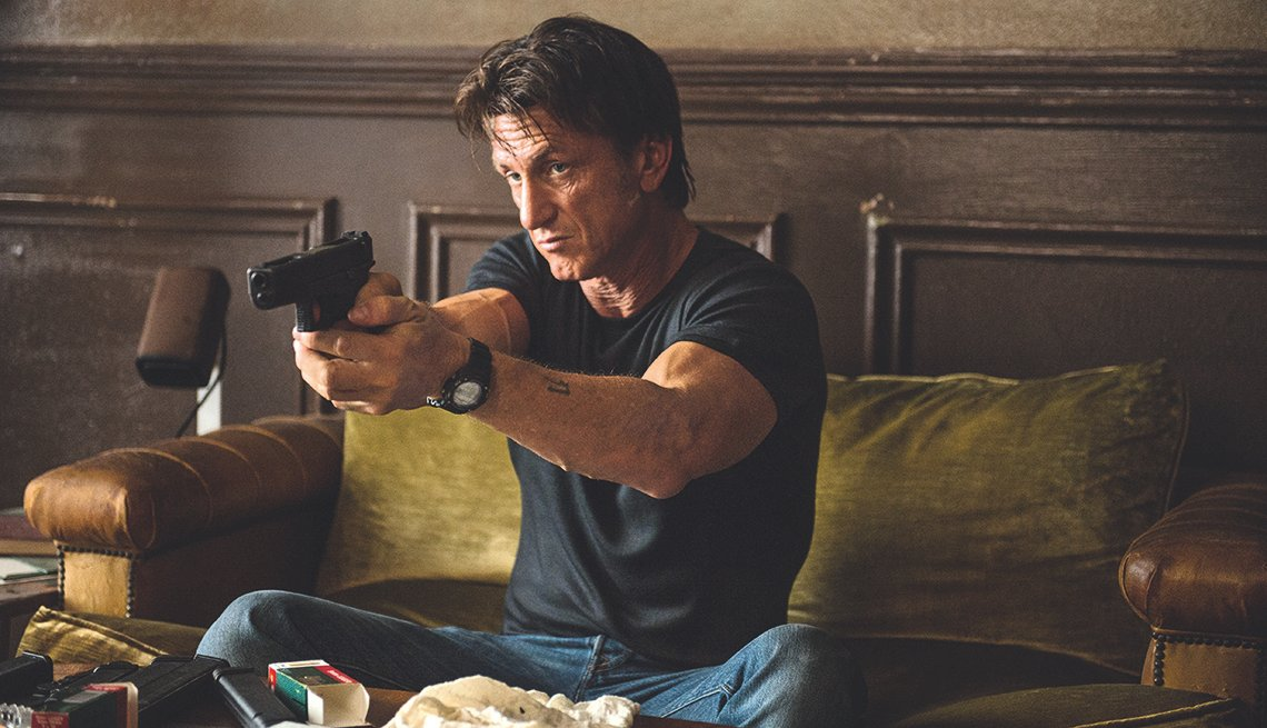 Sean Penn, The Gunman