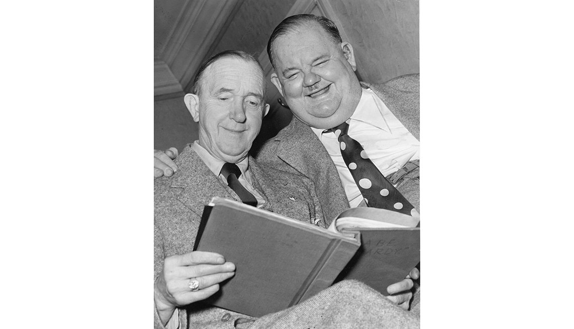 El Gordo y el Flaco. Laurel y Hardy en una edad madura