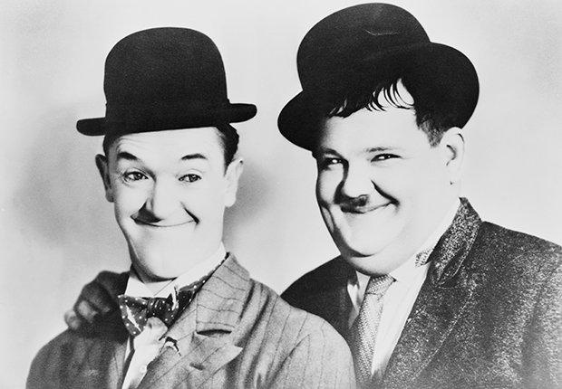 Laurel y Hardy, el Gordo y el Flaco