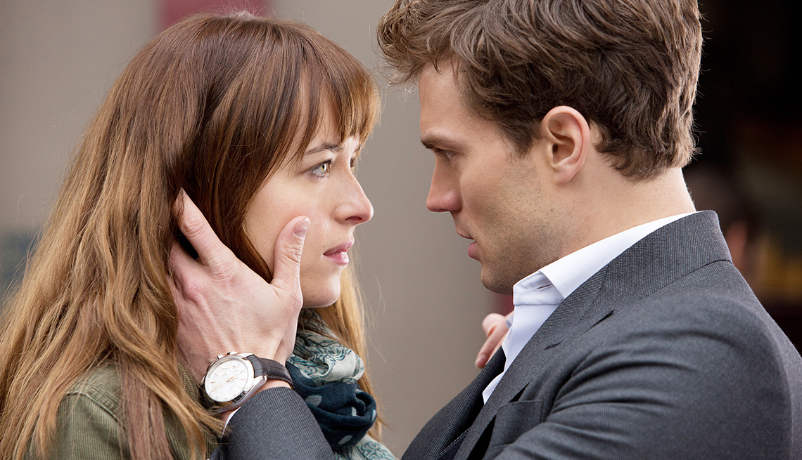 Dakota Johnson, Jamie Dornan, 50 Shades of Grey