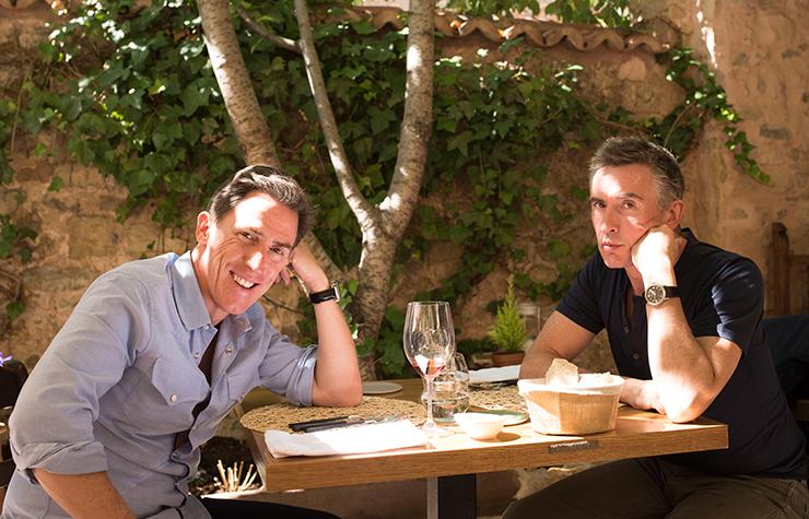 Steve Coogan y Rob Brydon en una escena de la película The Trip to Spain