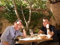 Steve Coogan y Rob Brydon en una escena de la película The Trip to Spain