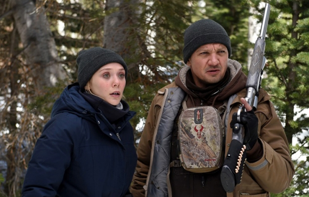 Elizabeth Olsen and Jeremy Renner star in Wind RiverPhoto: Fred Hayes© 2017 The Weinstein Company. All Rights Reserved