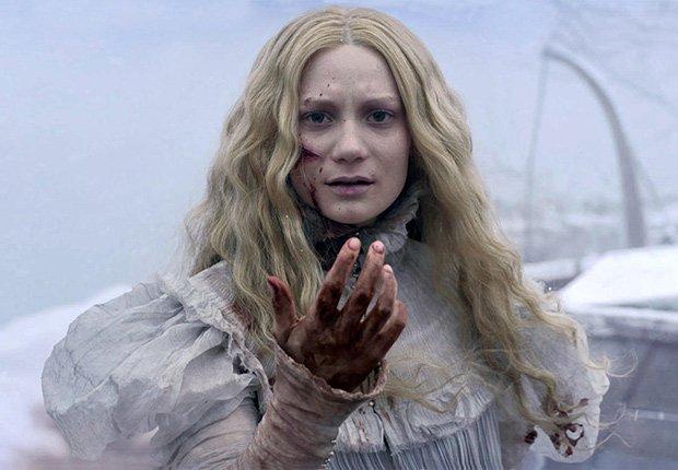 Escena de Crimson Peak, películas de terror dirigidas por hispanos