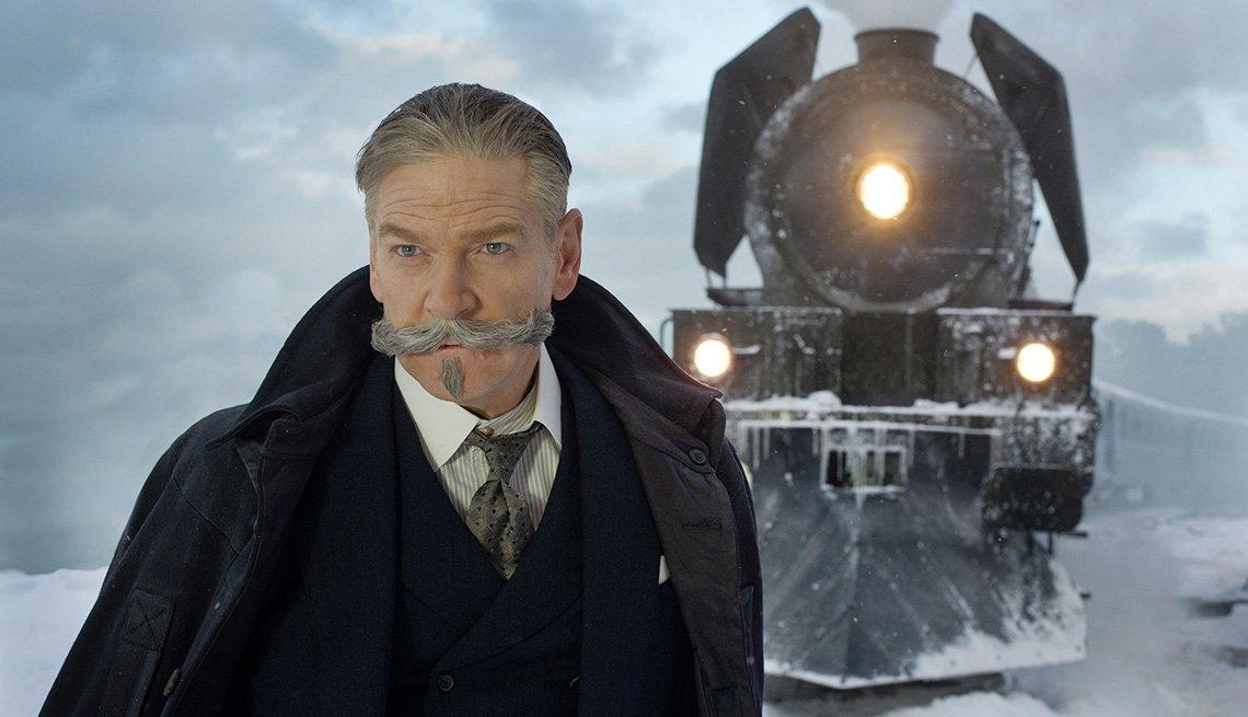 Kenneth Branagh en una escena de 'Murder on the Orient Express'
