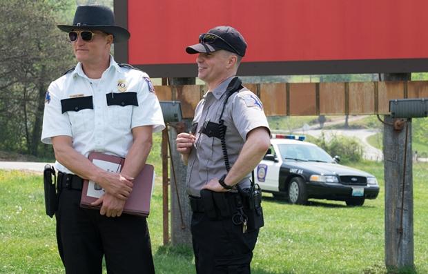 Escena de la película 'Three Billboards Outside Ebbing Missouri'