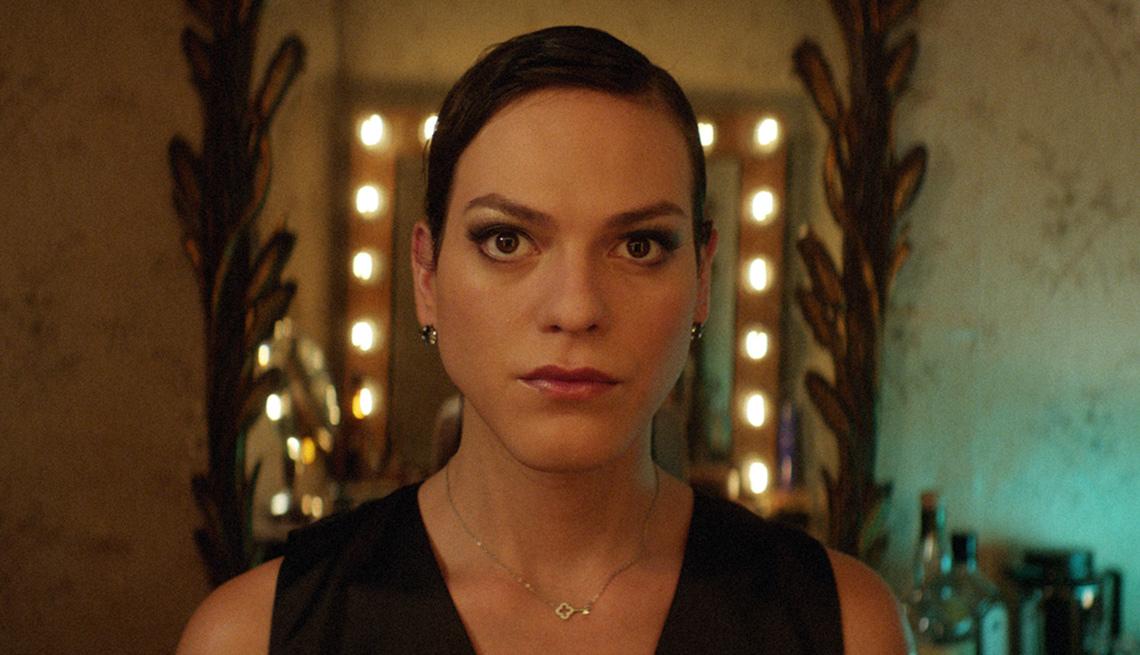 Daniela Vega en una escena de Una mujer fantástica