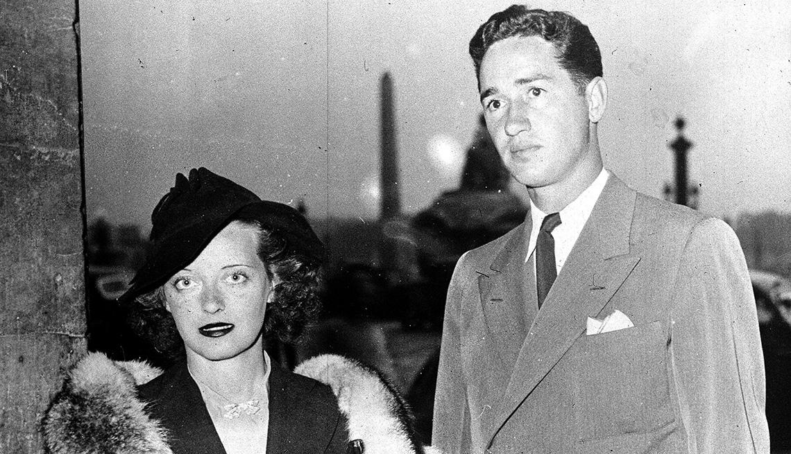 Bette Davis y Ham Nelson