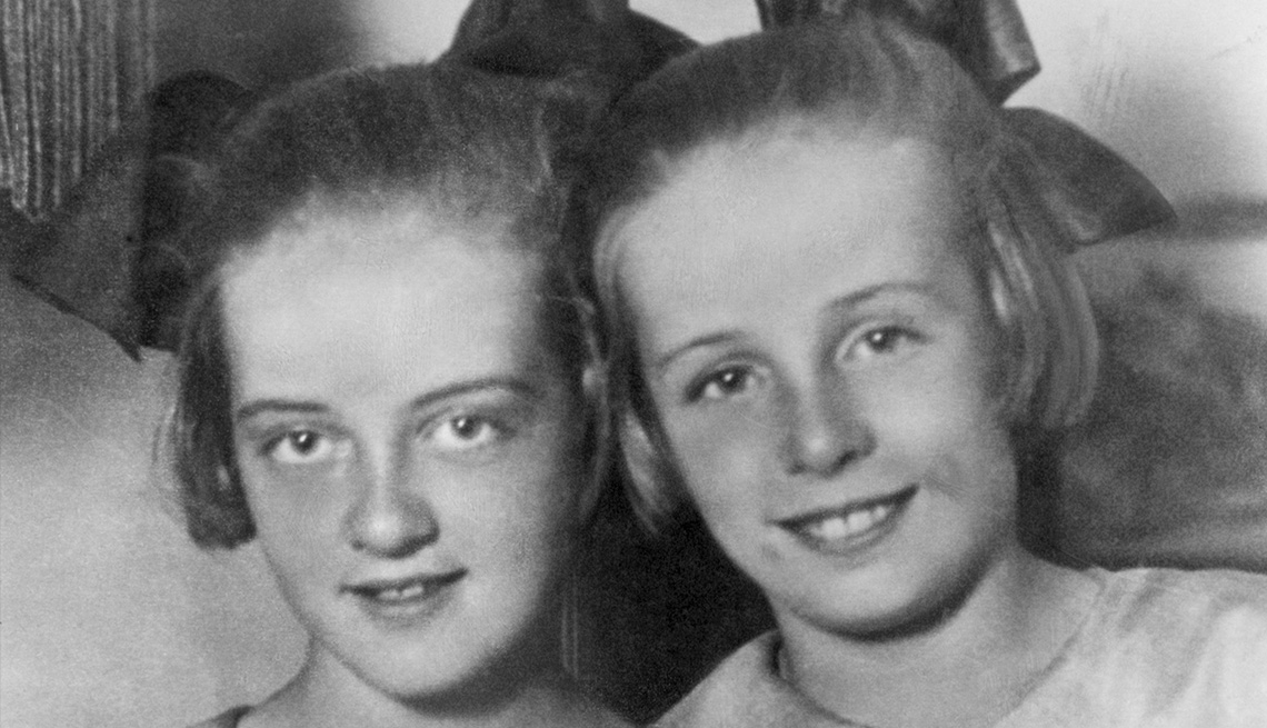 Bette Davis a la edad de 12, California 1920