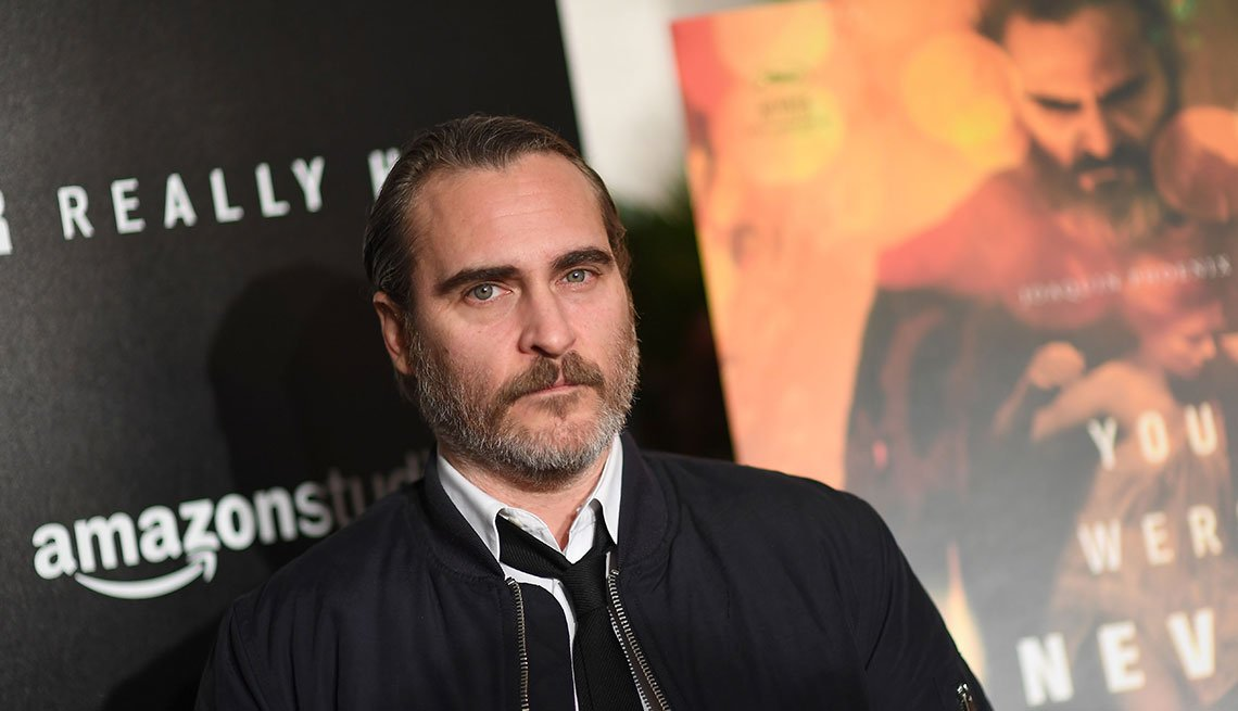 Joaquin Phoenix en la premier en Nueva York de 'You Were Never Really Here'