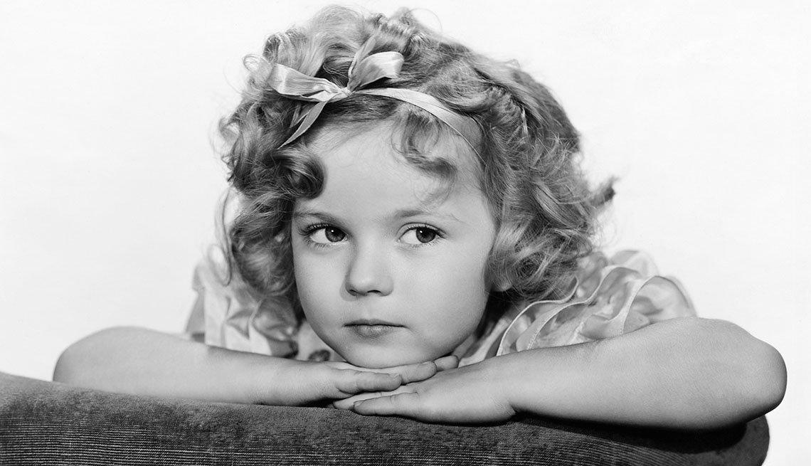 Shirley Temple en la infancia