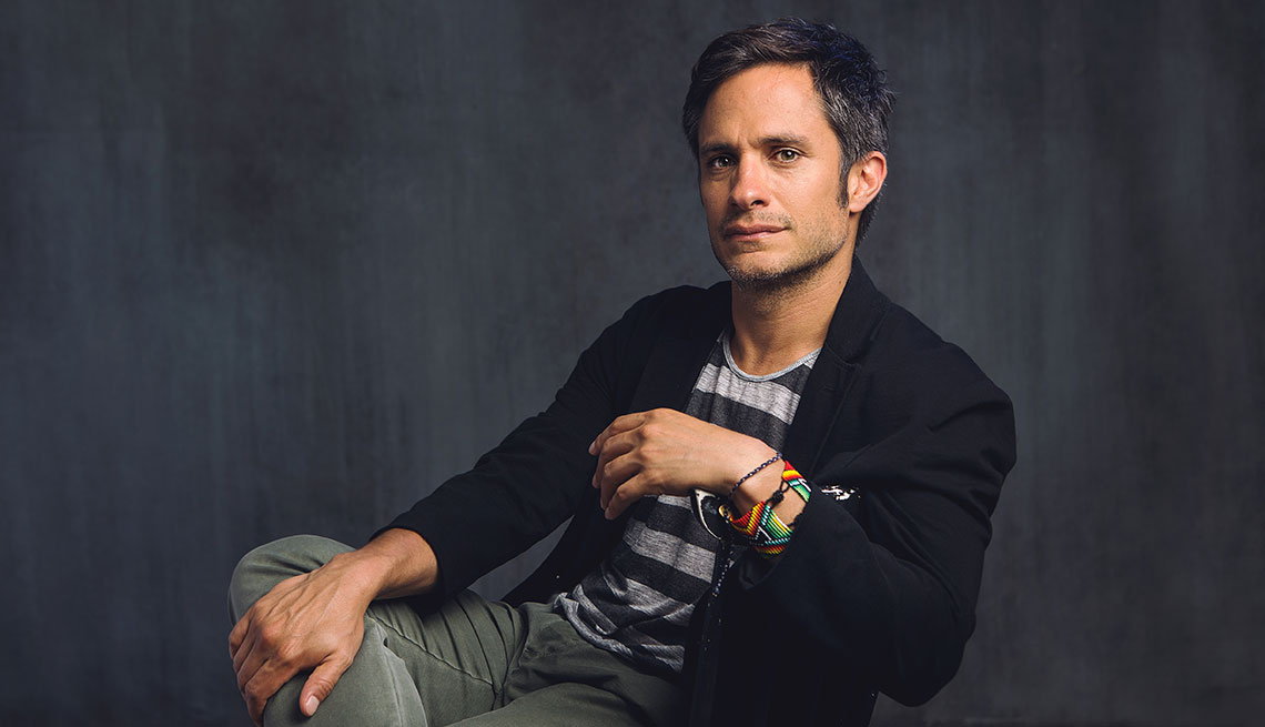Actor mexicano Gael García Bernal