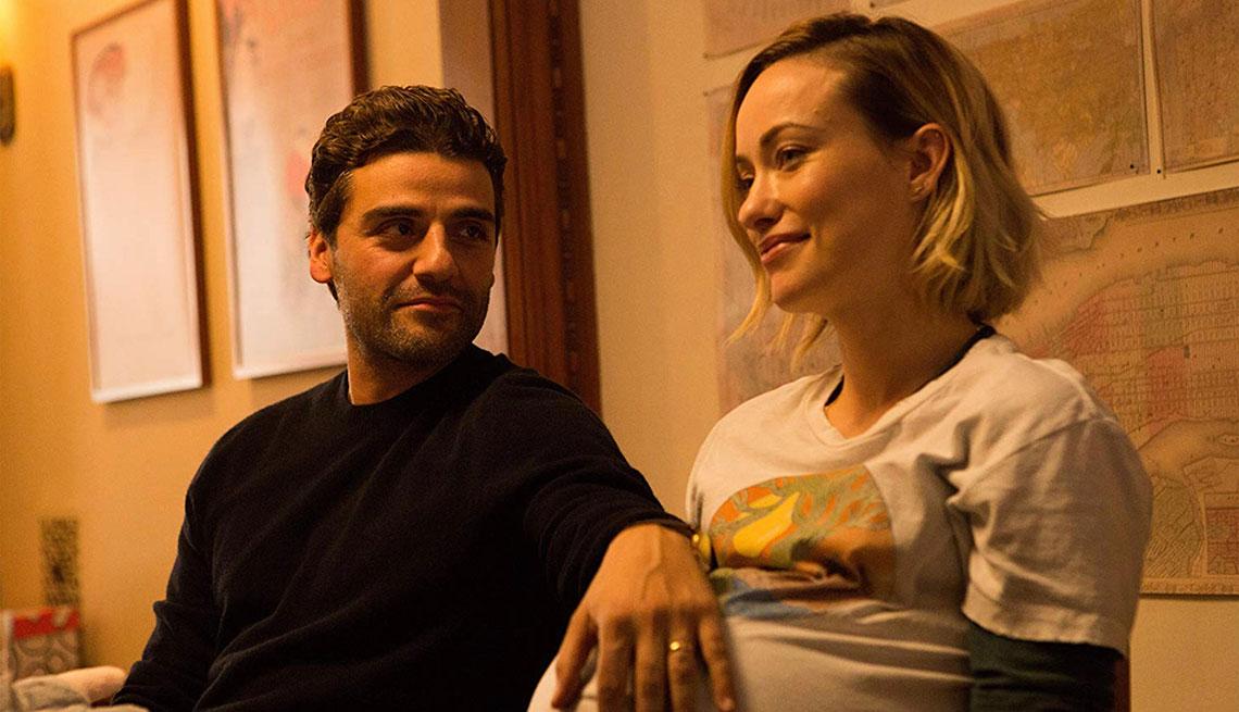 Oscar Isaac y Olivia Wilde en una escena de la película Life Itself