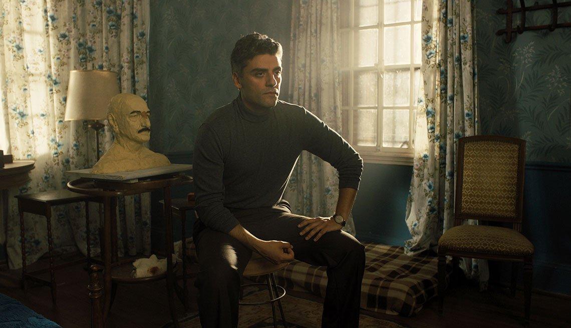 Oscar Isaac en una escena de Operation Finale