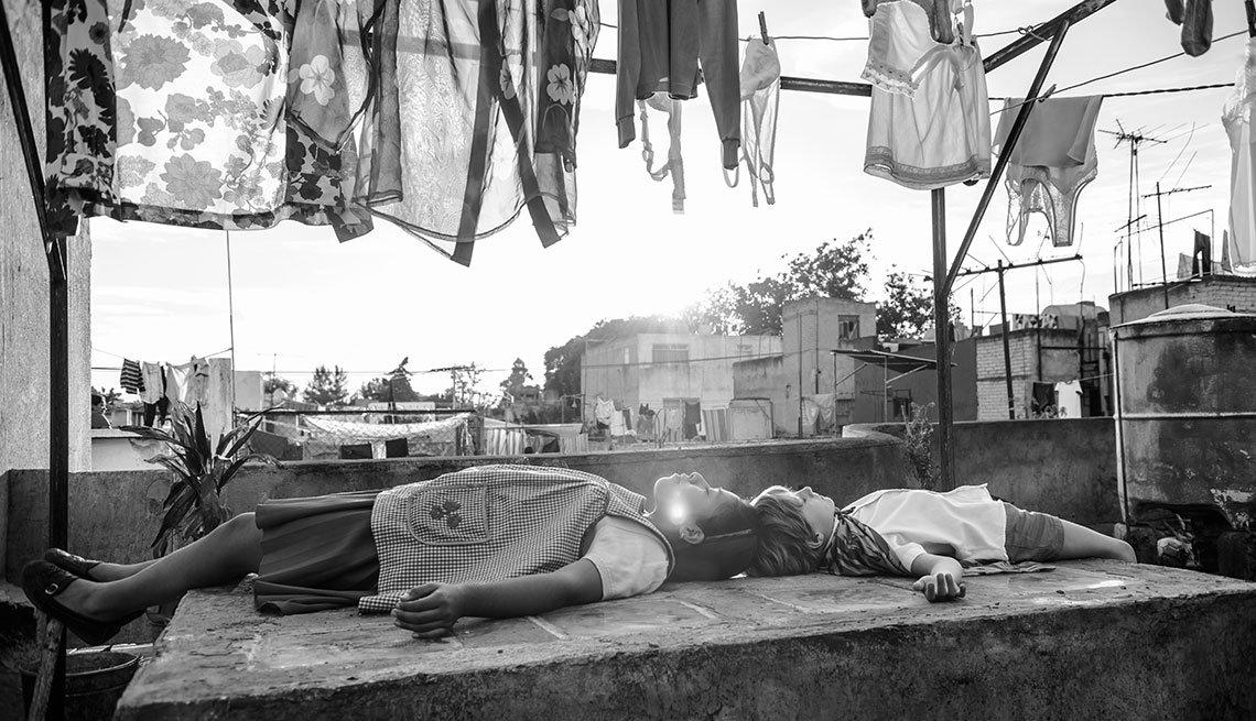 Escena de la película Roma del mexicano Alfonso Cuarón