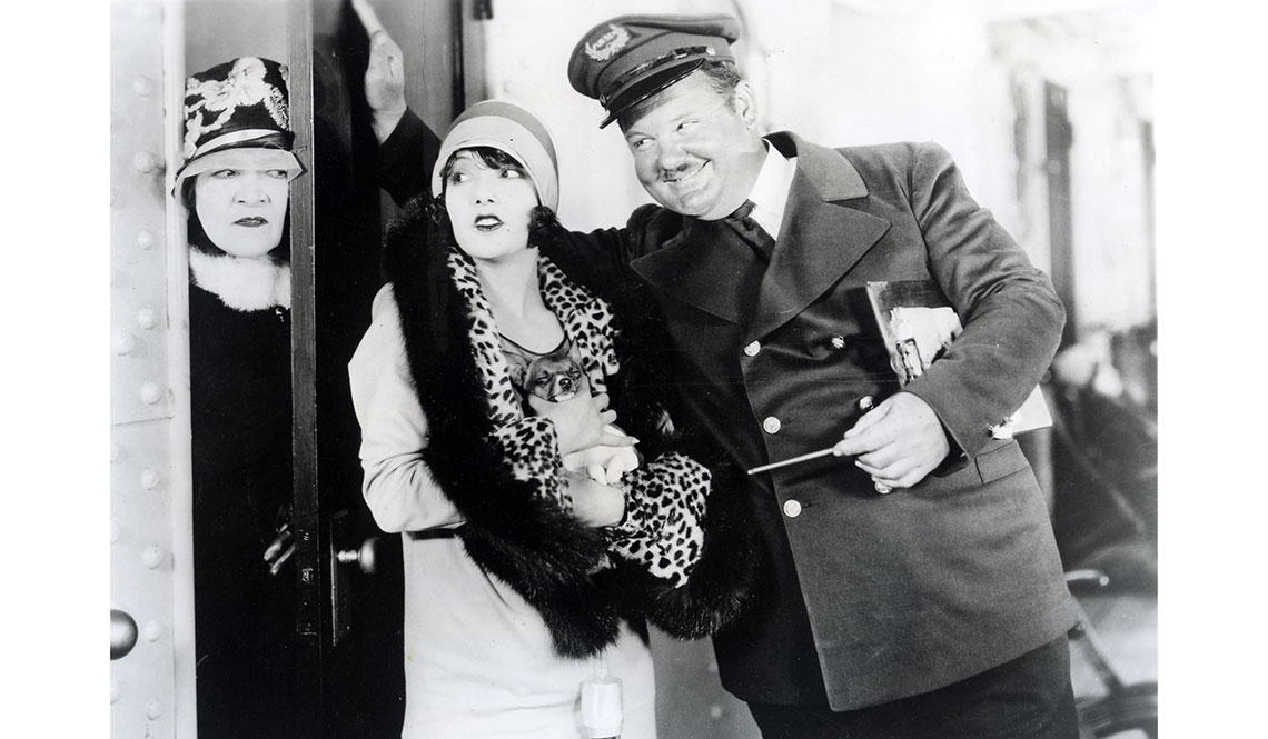 item 3 of Gallery image - Lupe Vélez, actriz mexicana, con el actor Oliver Hardy