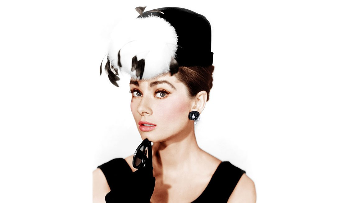 Audrey Hepburn en una escena de la película 'Breakfast at Tiffany's', 1961.