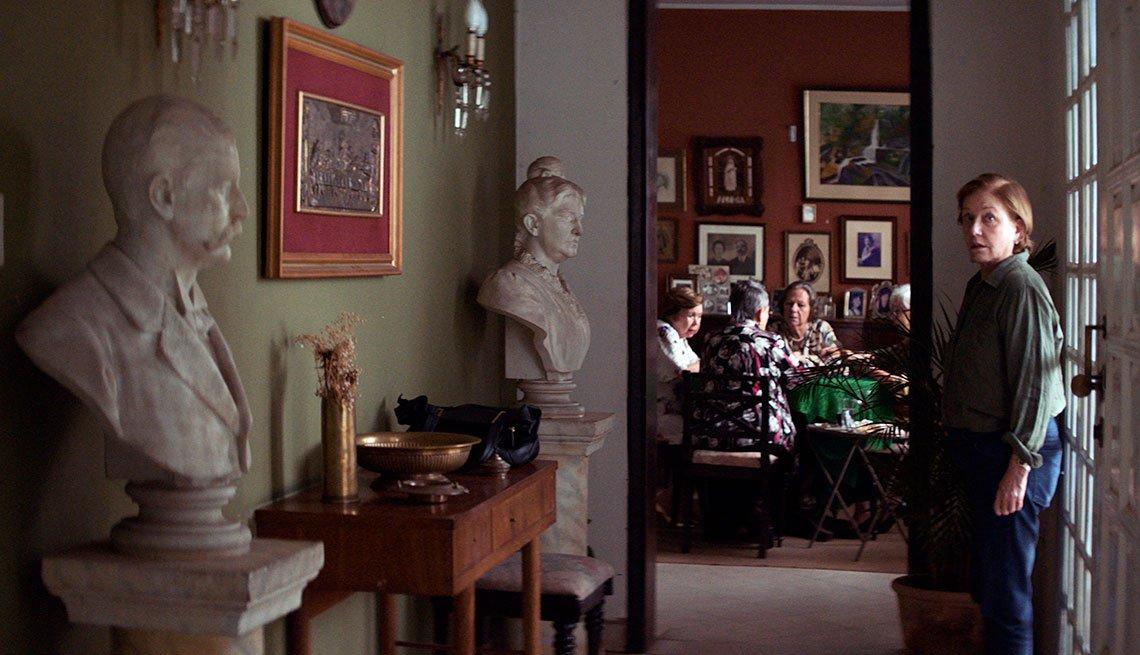 Escena de la película paraguaya Las Herederas