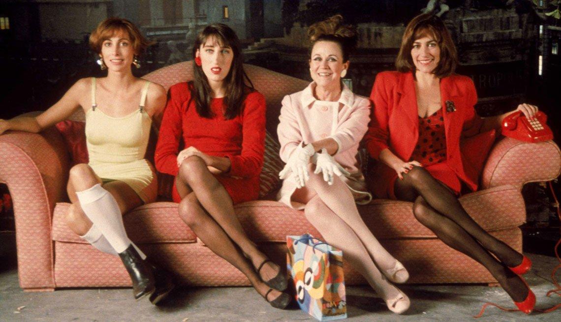 item 5, Gallery image. María Barranco, Rossy de Palma, Julieta Serrano y Carmen Maura en 'Mujeres al borde de un ataque de nervios'.
