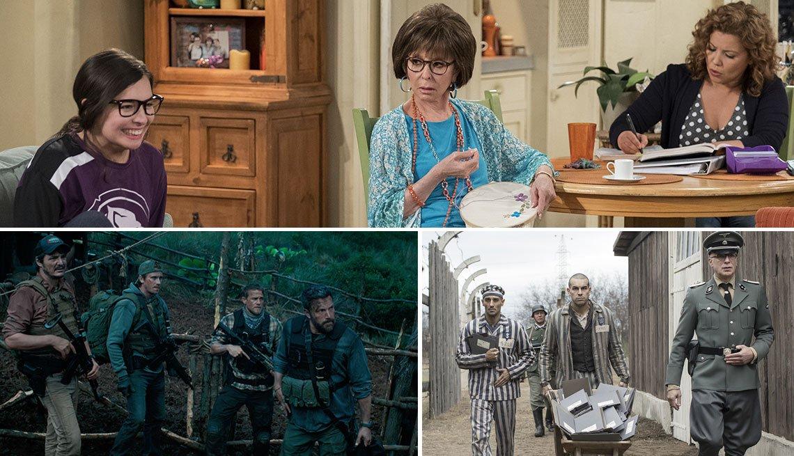 Escenas de producciones de Netflix primavera 2019