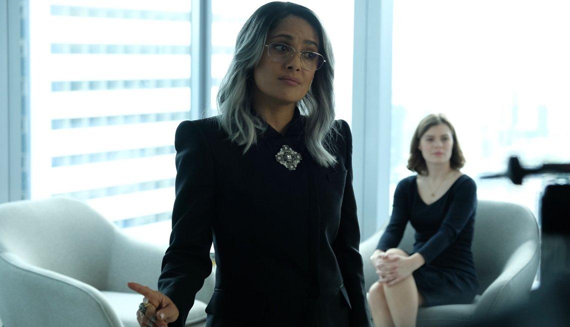 Salma Hayek en una escena de la película The Hummingbird Project