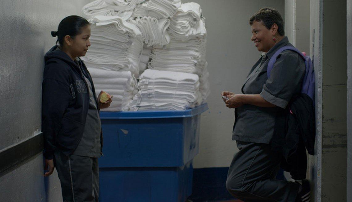 Escena de la película La Camarista