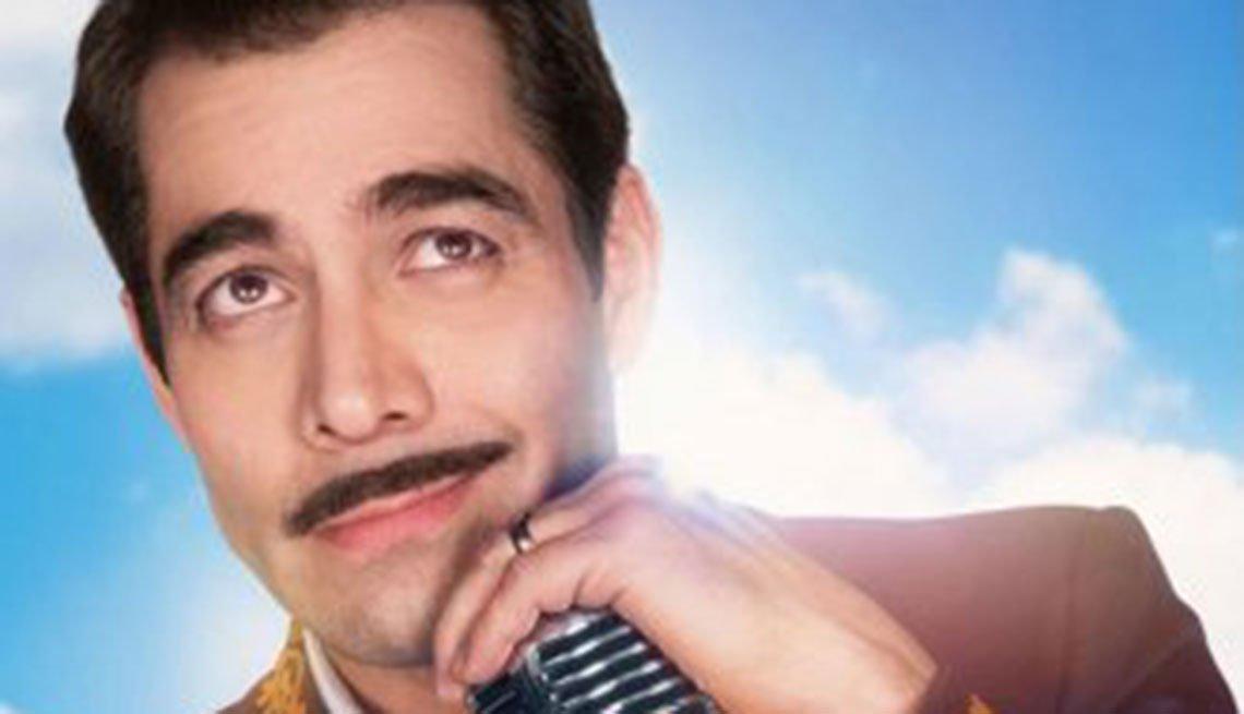 Omar Chaparro interpretando a Pedro Infante