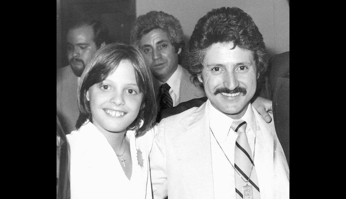 Luis Miguel y Luisito Rey en 1982