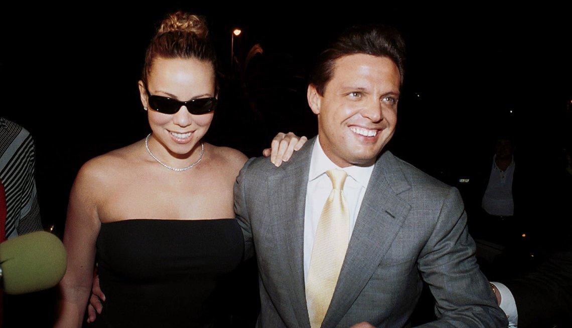 Mariah Carey y Luis Miguel en 2001