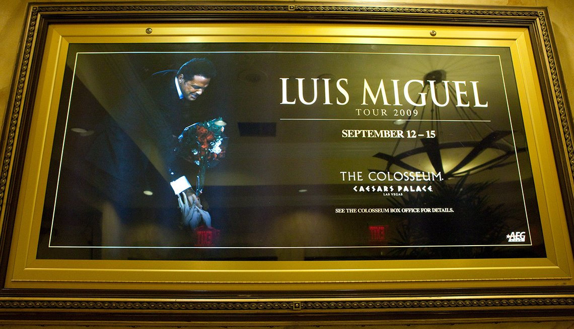 Placard, Luis Miguel Through The Years
