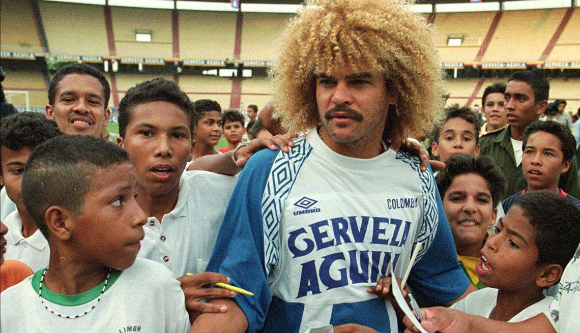 Carlos Valderrama, Astros del fútbol latinoamericano