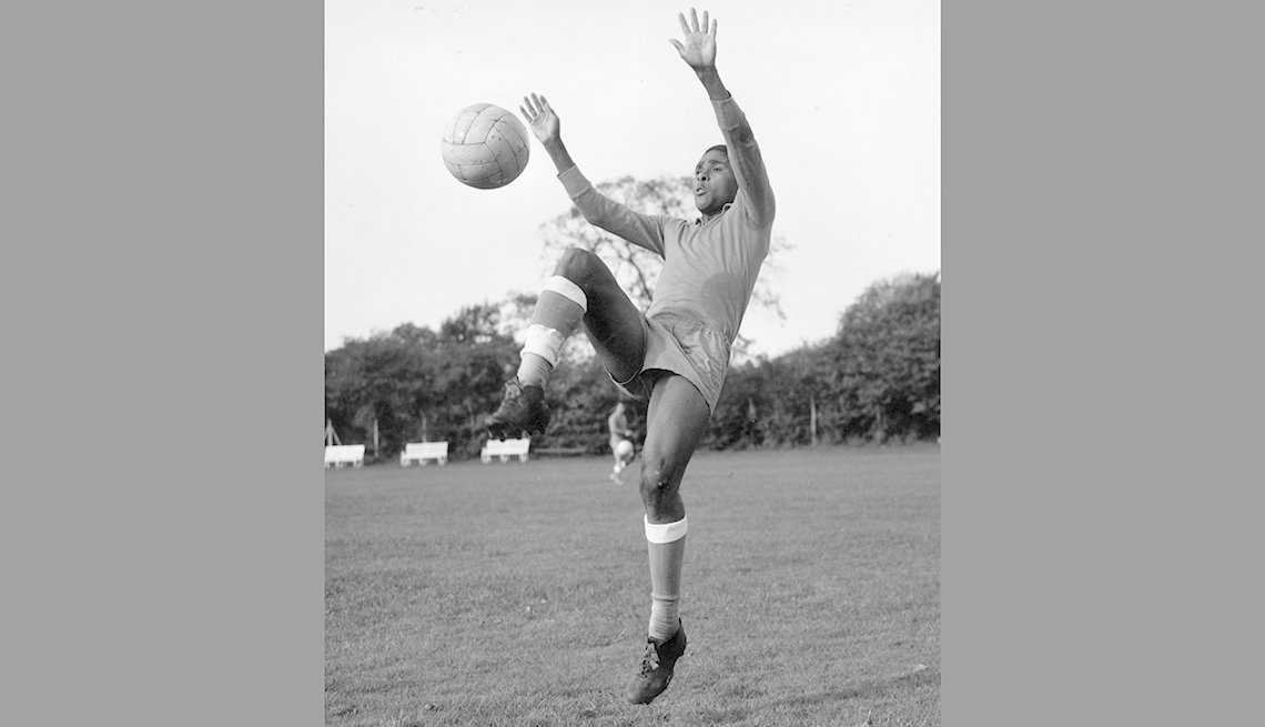 Eusebio da Silva Ferreira, Astros del fútbol mundial