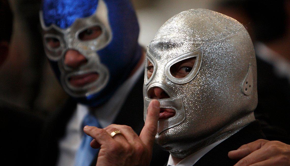 El Hijo del Santo, Ídolos de la lucha libre mexicana