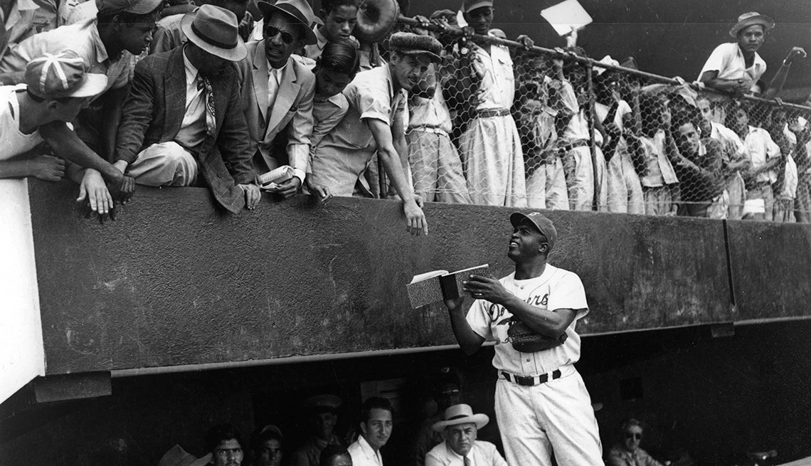 Jackie Robinson, pasión por el béisbol