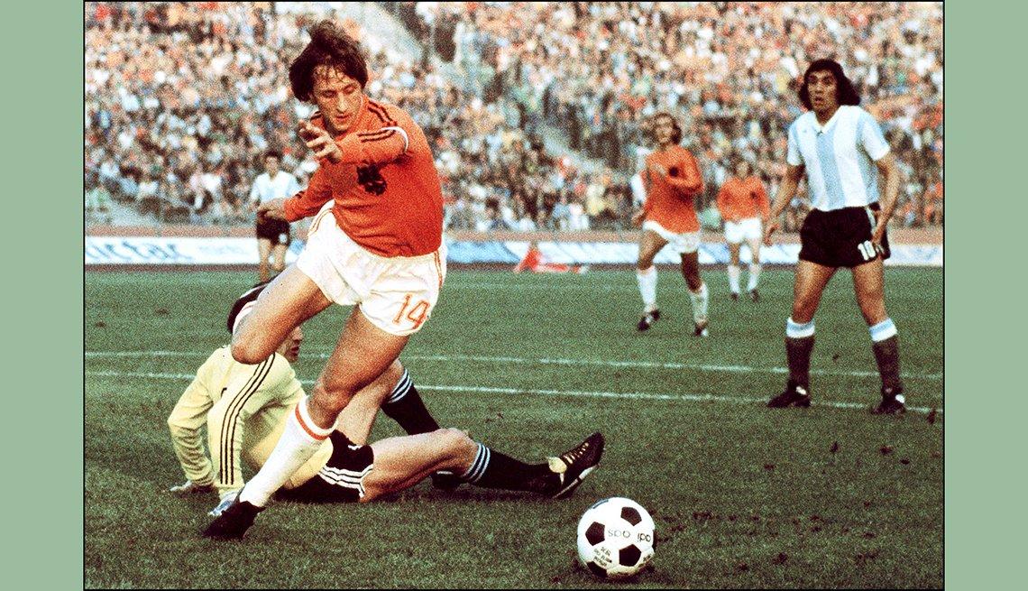 Johann Cruyff, Astros del fútbol mundial