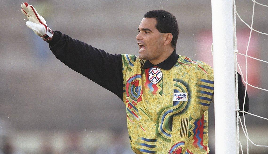 José Luis Chilavert, Astros del fútbol mundial