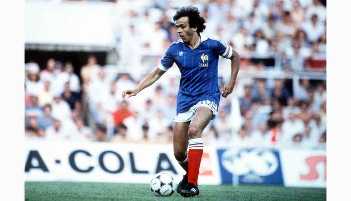Michel Platini, Astros del fútbol mundial