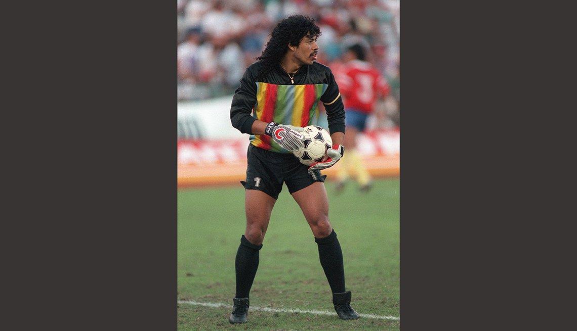 Rene Higuita, Astros del fútbol mundial