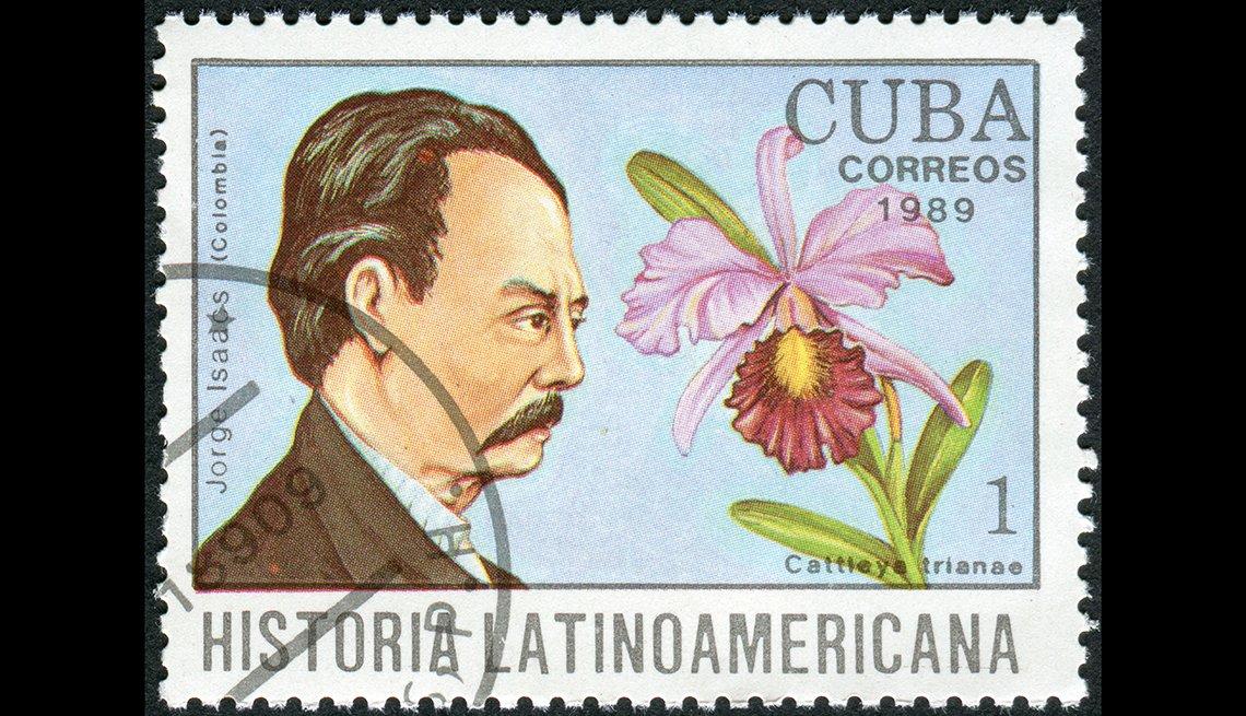 Jose Isaacs Ferrer, Cuba correos 1989, Historia LatinoAmericana
