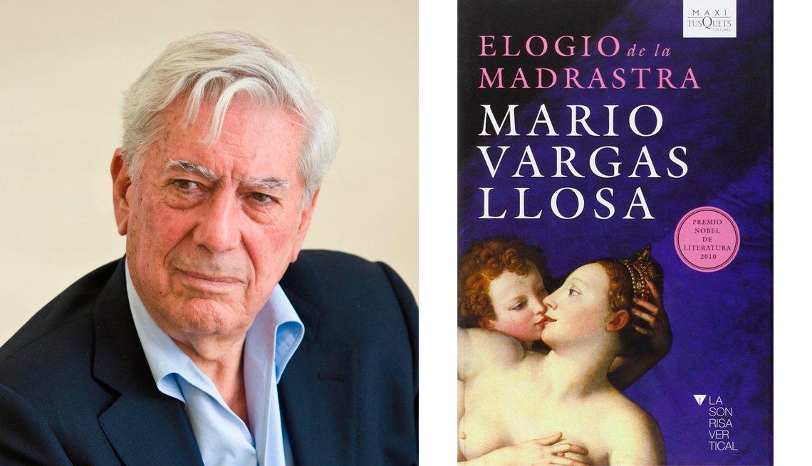 Mario Vargas Llosa y su libro Elogio de la Madrasrastra.