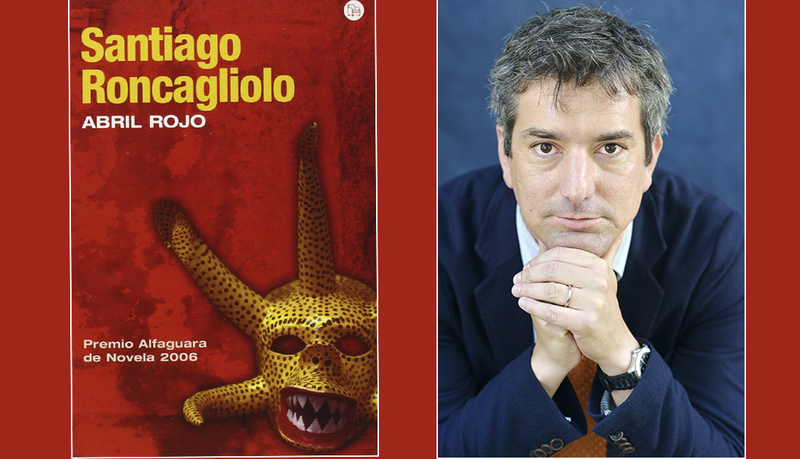 Santiago Roncagliolo Abril Rojo Premio Alfaguara de Novela 2006.