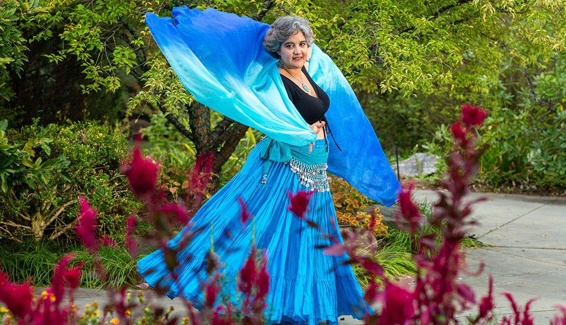 Jamillah Echeverria, bailarina de belly dance