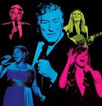 Tony Bennett and singers